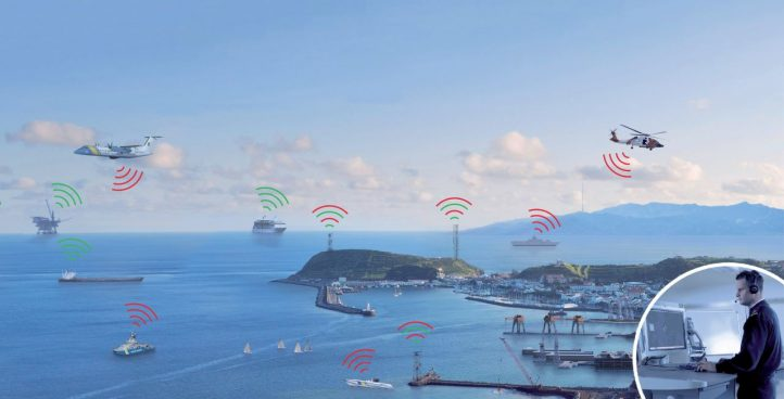 Coastal surveillance network