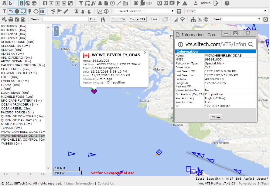 AIS Aids to Navigation Management Solution